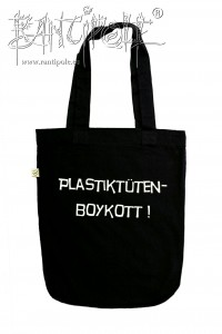 """Plastiktütenboykott"" fair trade tote bag"
